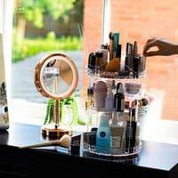 Rotating 360 Degree Makeup Organiser
